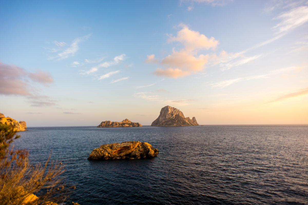 Es Vedra in Ibiza by Godai Escapes for ELSEWHERE