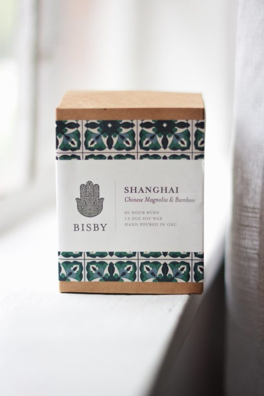 Bisby Shanghi - Destination Inspired Candles - ELSEWHERE